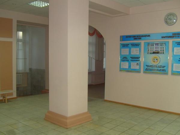 Вестибюль школы